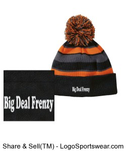Comeback Pom-Pom Beanie by Holloway USA Design Zoom